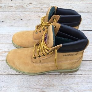 Brahma Hubert waterproof Leather Work Boots
